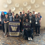 Picture of UW attendees at TAPIA conference